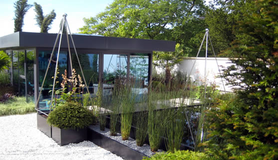 Show Garden: Room for Reflection, Garden Show Ireland (GSI) 2009