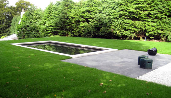 Contemporary Pool Garden, Dromara, Co Down